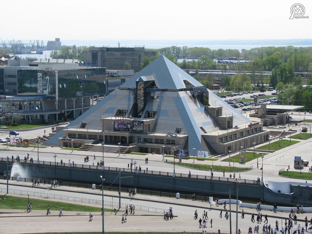 Казань пирамида