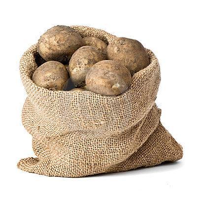 Мешок с картошкой.