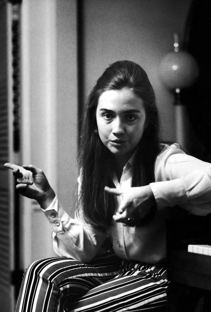 Hillary Rodham (later Hillary Clinton) by Wellesley Grad, Park Ridge, Illinois '1969