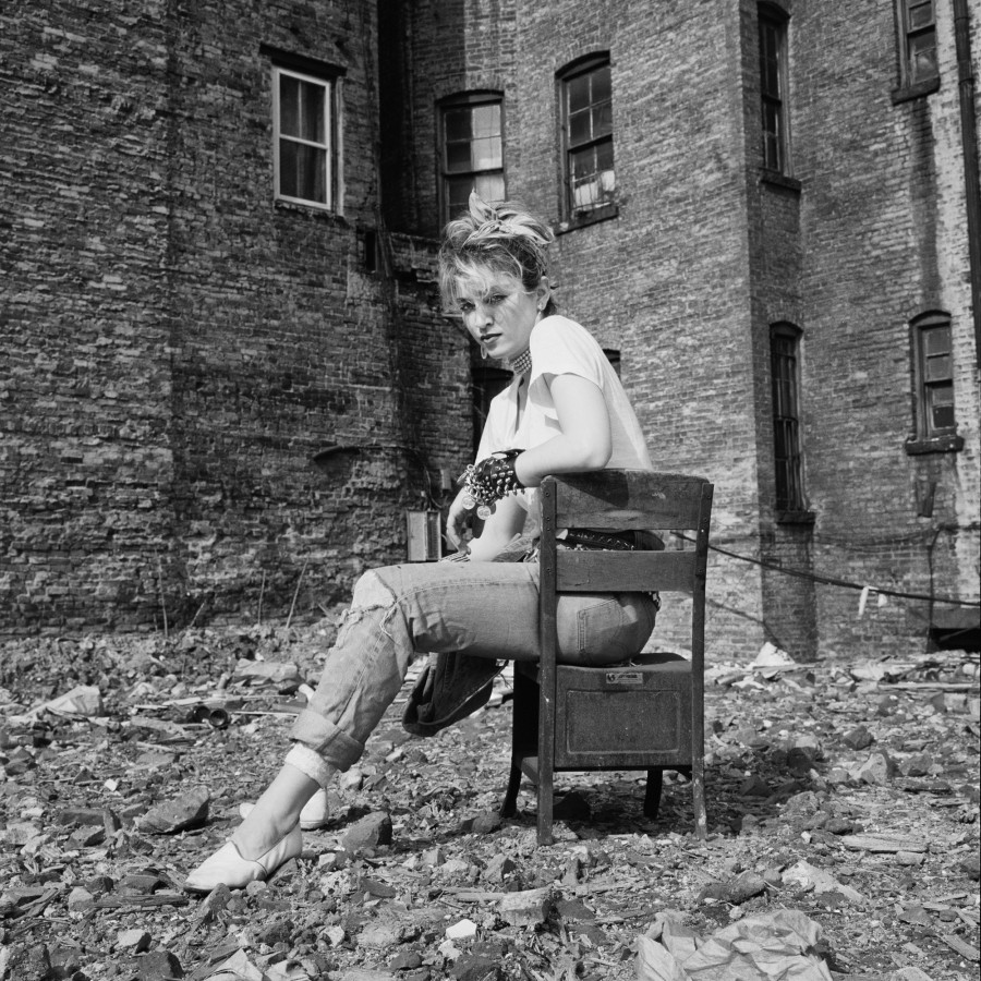 Madonna in Rubble 5