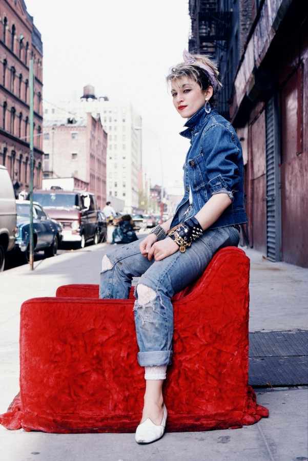 Madonna Red Chair