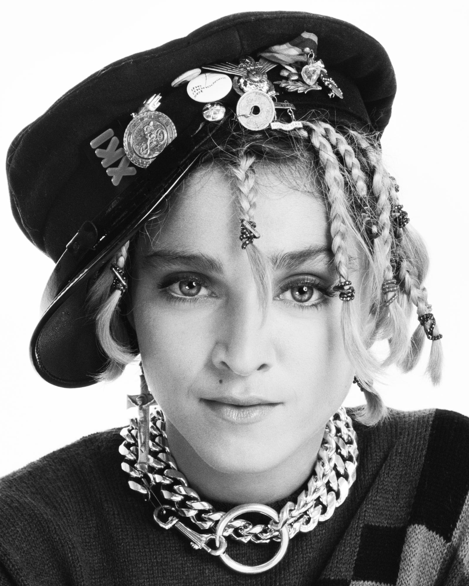 Madonna Braids 1