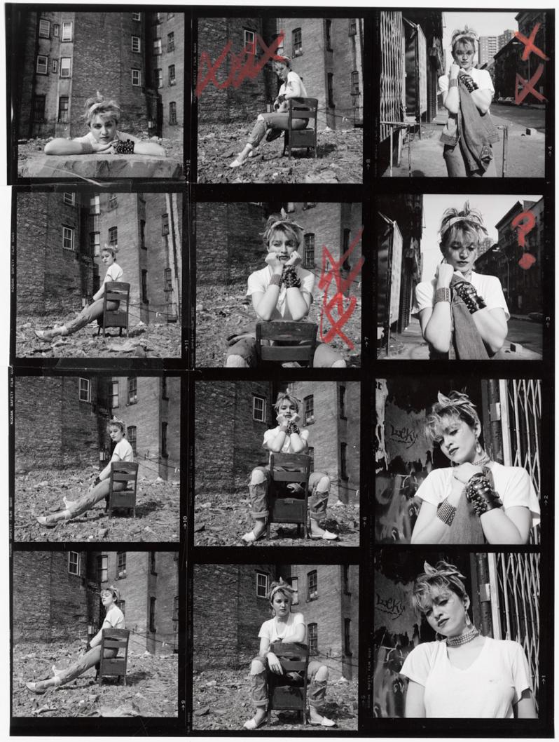 Madonna Contact Sheet 5