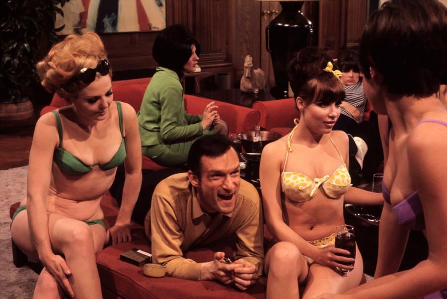 Playboy founder Hugh Hefner by Burt Glinn, Chicago '1966