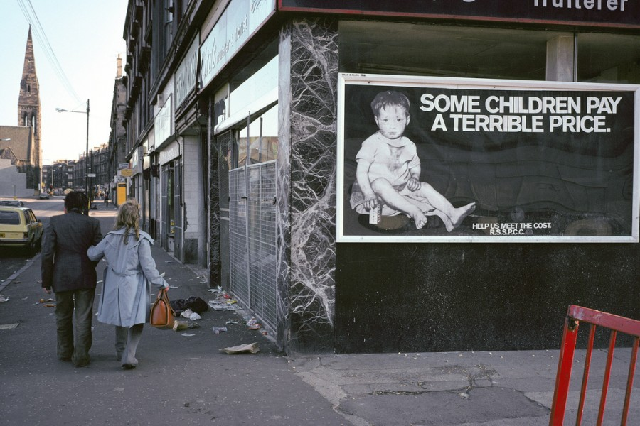 Glasgow by Raymond Depardon, Scotland '1980 (Part I)