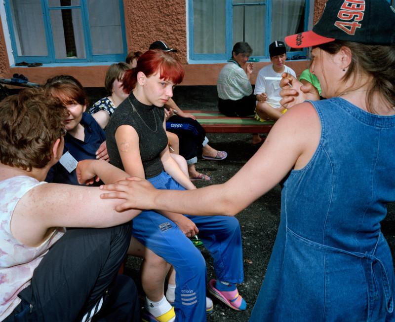 Siberian prison camp by Carl de Keyzer, Krasnoyarsk region '2000 - 2002 (Part II)