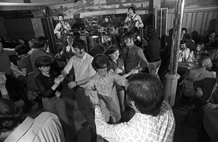 Dancing at Kilgarriff's Cafe by Spencer Grant, Boston '1976
