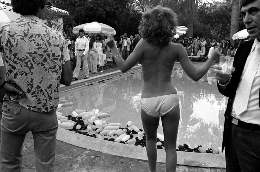 Behind the Beverly Hills Hotel by Brad Elterman '1977