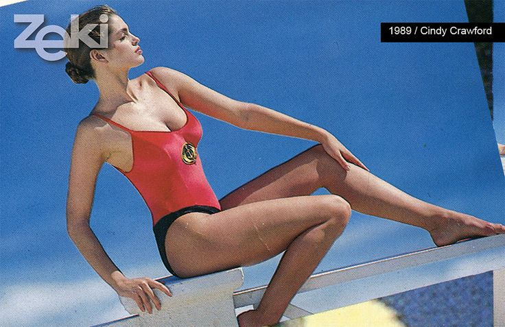 Cindy Crawford, Zeki Triko Photoshoot '1989