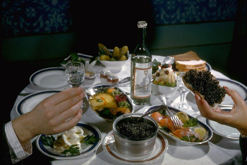 Soviet Caviar Harvest by Carl Mydans, Astrakhan '1960