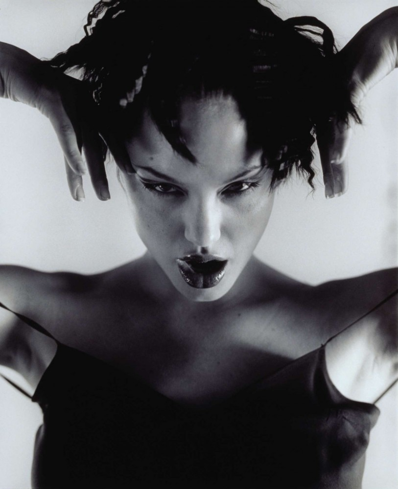 Angelina Jolie by Isabel Snyde '1997