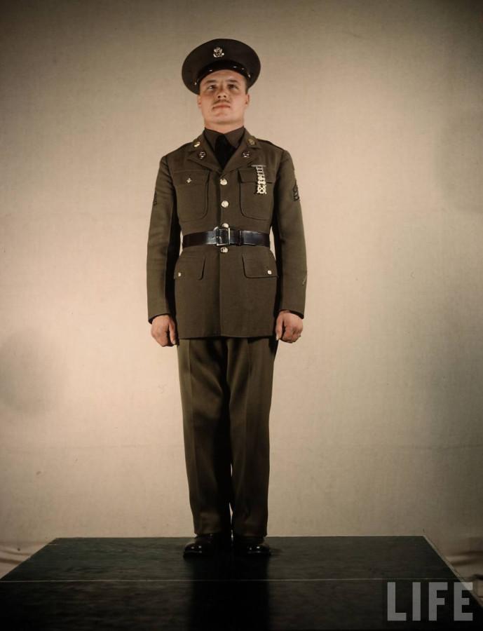 Us Army Uniforms By Dmitri Kessel 1941 Visualarchive