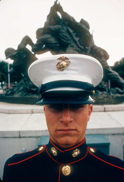 us marines boot camp parris island by thomas hoepker