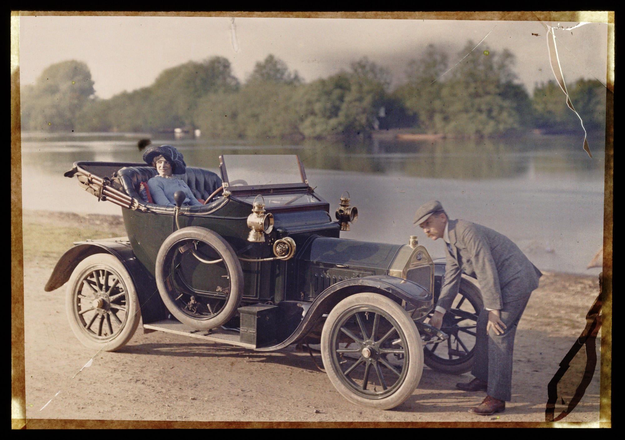 1910 Doriot, Flandrin & Parant automobile0