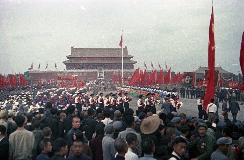 1949 Торжества на площади Тяньаньмэнь 1 октября 1949 г.