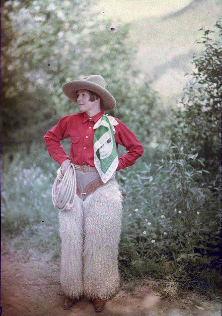 cowgirl, 1910