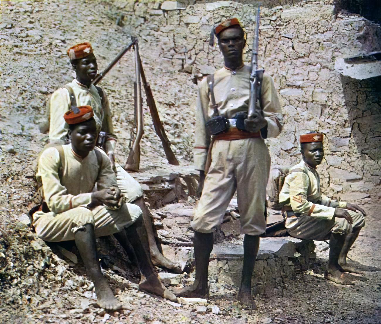 1910 Того Туземная полиция2