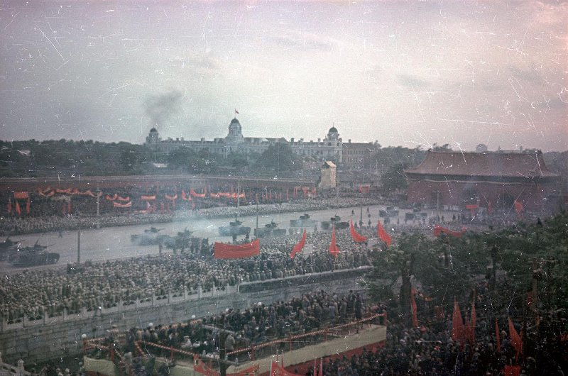 1950 Первомайский парад на площади Тяньаньмэнь2