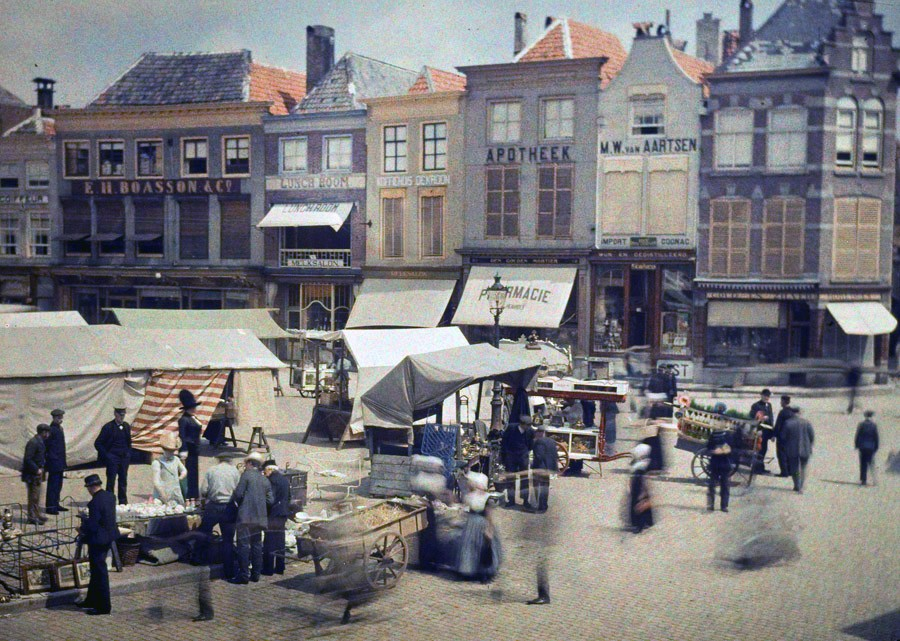 1910 Charles Corbet Marketday at Middelburg2