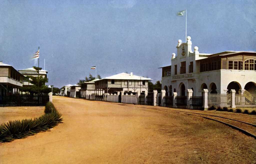 1910 Гамбург-штрассе в Ломе Того
