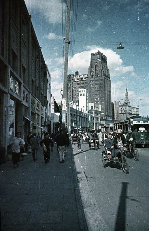 1949 Shanghai. Микоша. Нанинская ул.2