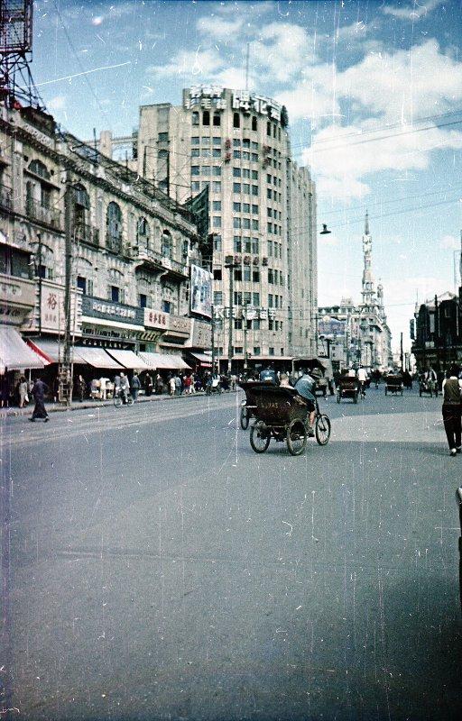 1949 Shanghai. Микоша. Нанинская ул.3