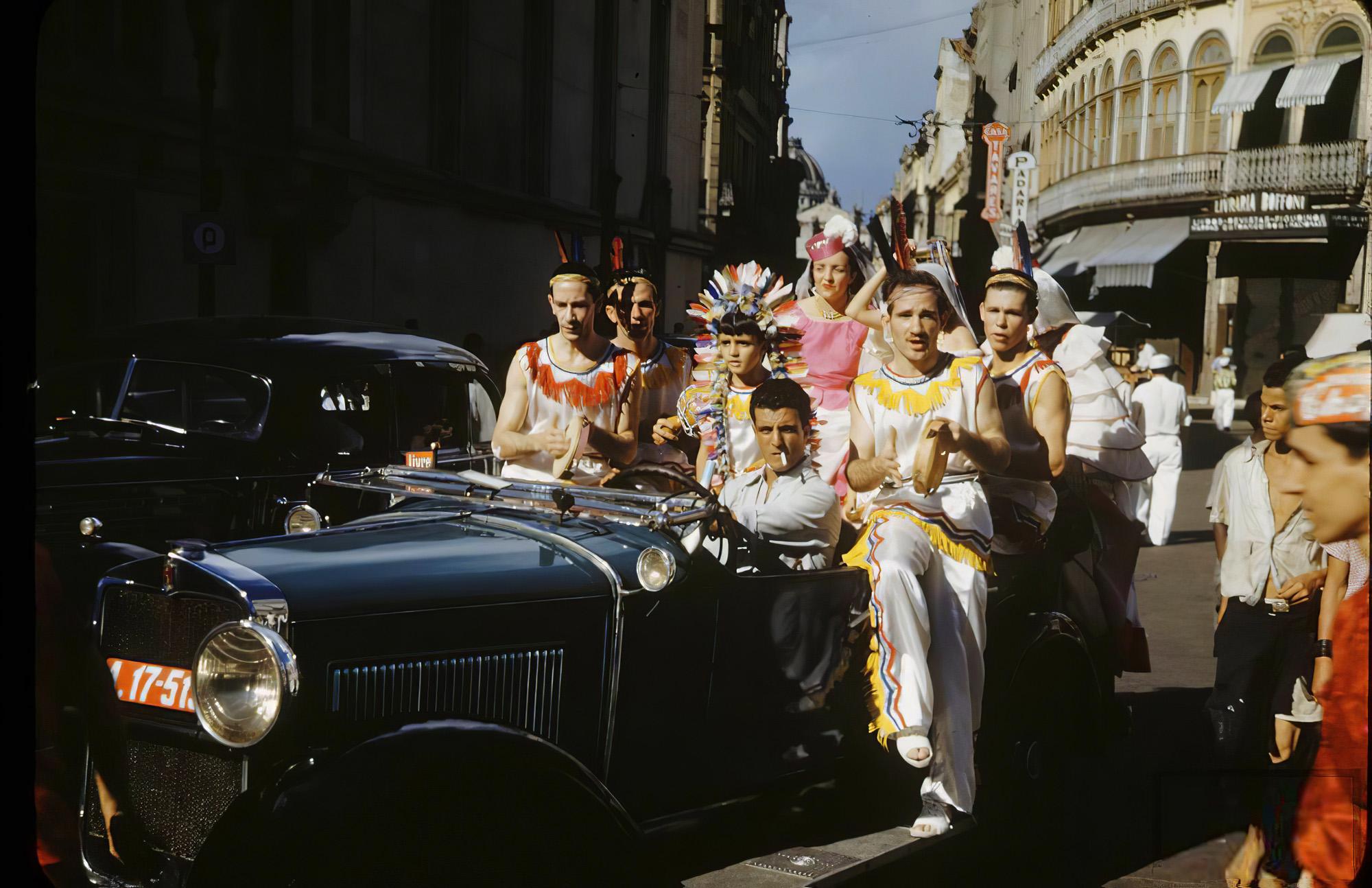 1943 Carnival In Rio De Janeiro. Hart Preston2