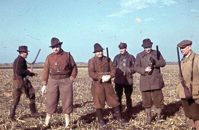 1940 Венгрия охотники
