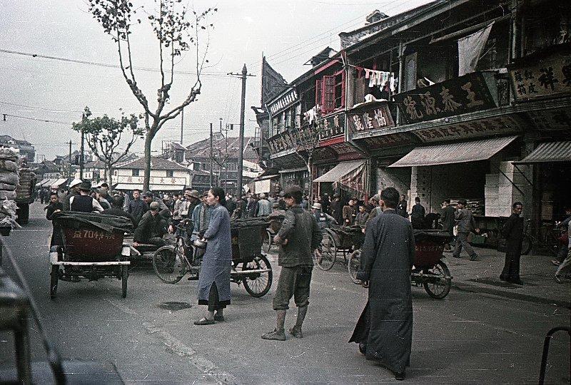 1949 Shanghai. Микоша
