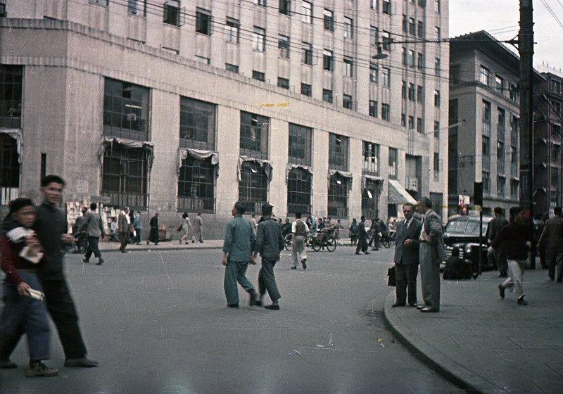 1949 Shanghai. Микоша2