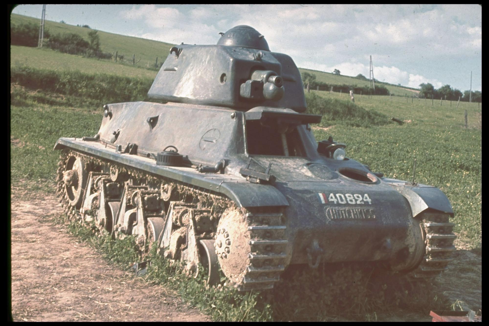 1940 Somua tank