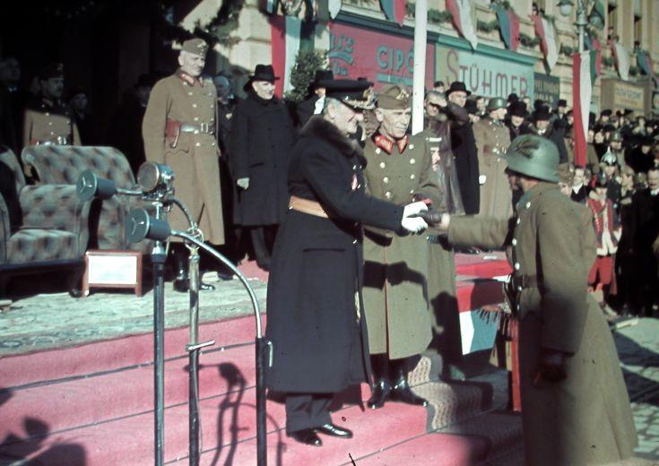 1940 церемония награждения Миклоша Хорти
