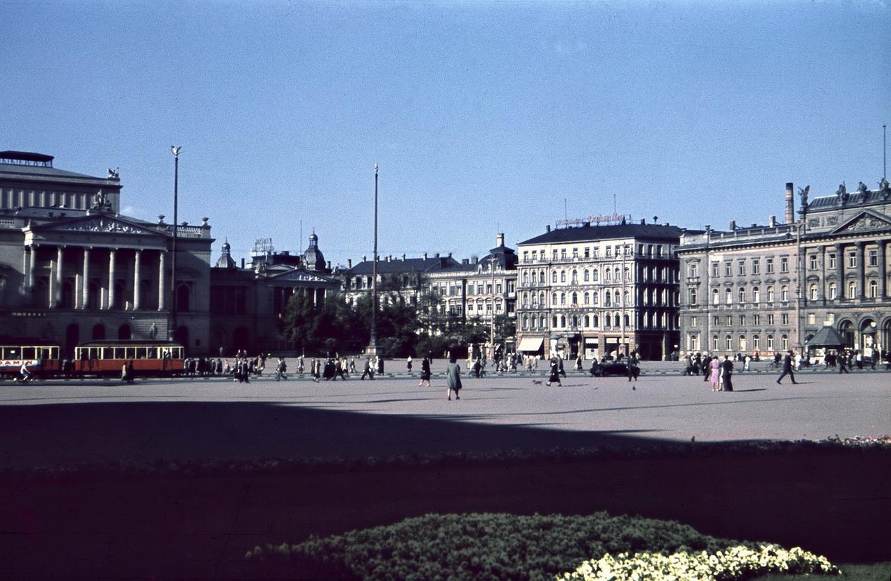 1940 Leipzig Augustusplatz, Nordostseite