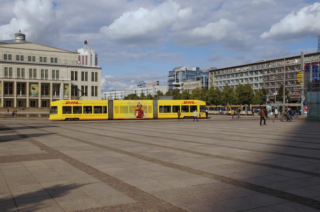 1940 Leipzig Augustusplatz, Nordostseite2010s