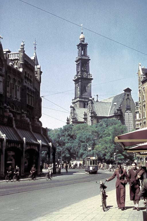 1940 may Raadhuisstraat in Amsterdam Hustinx