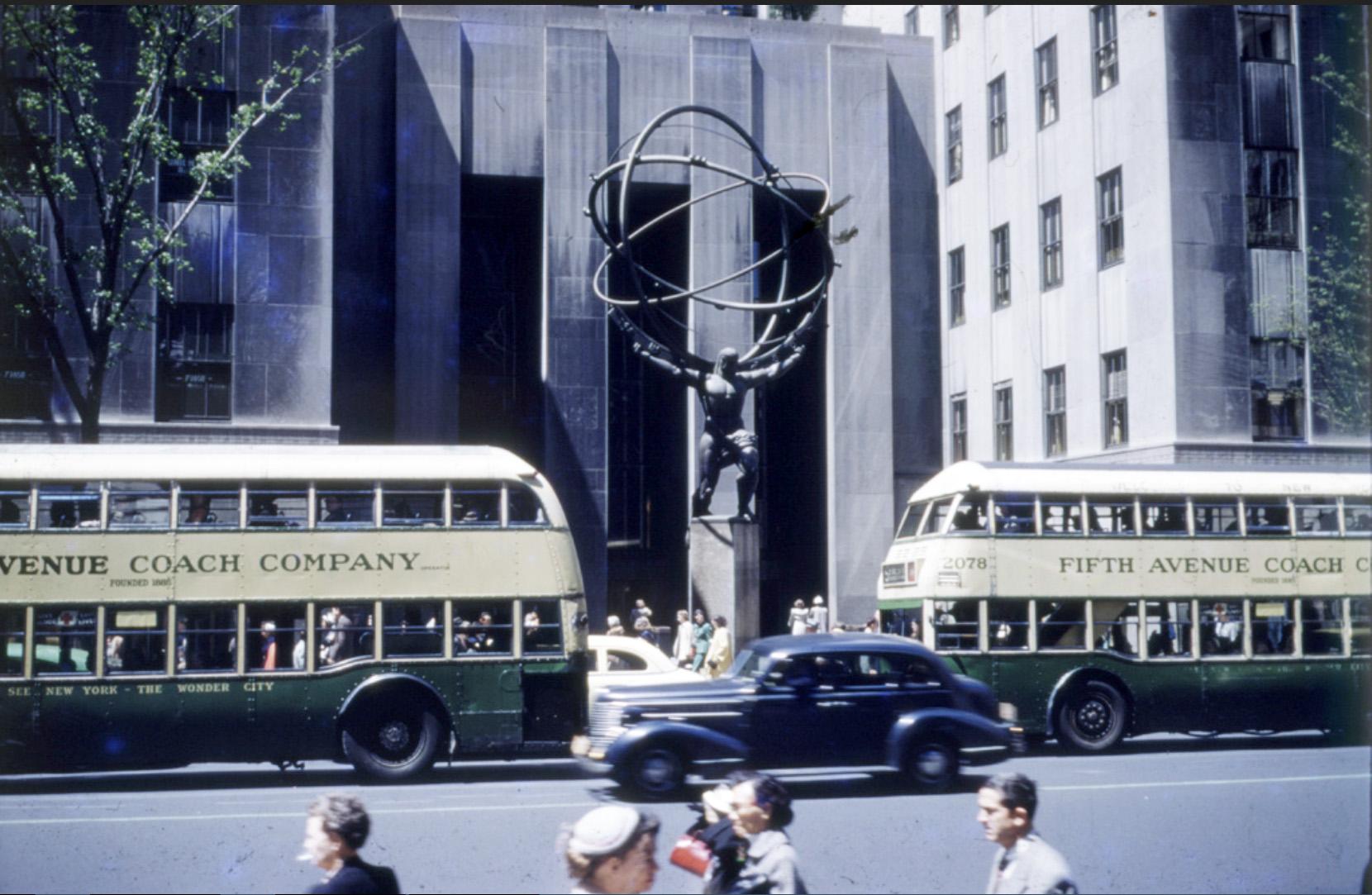 1940c  NY Fifth Avenue Coach Company