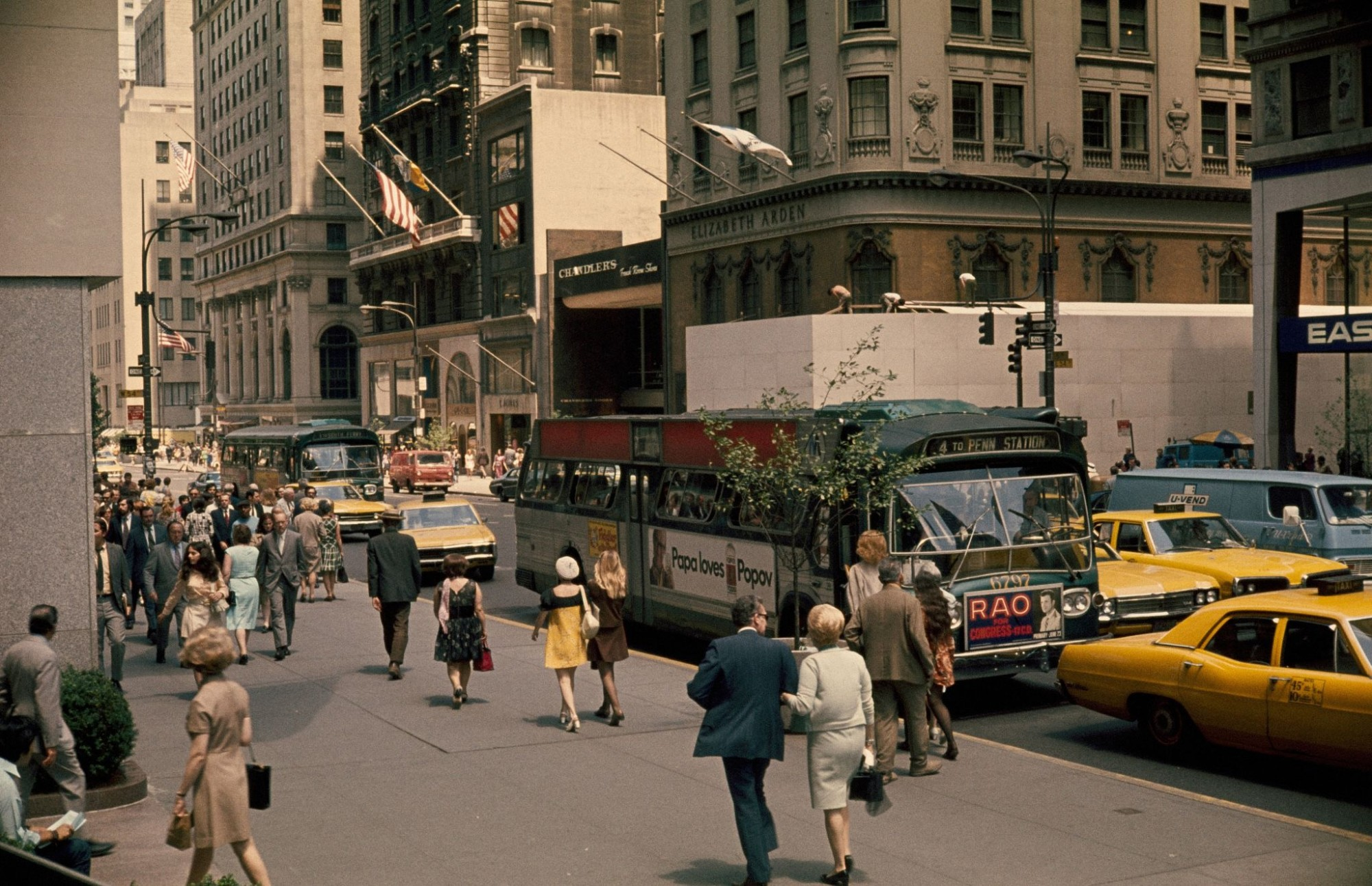 1970 Fifth Avenue from Public library