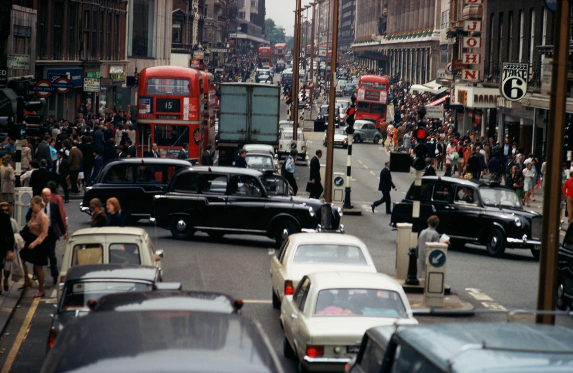 1970 London Oxford Street