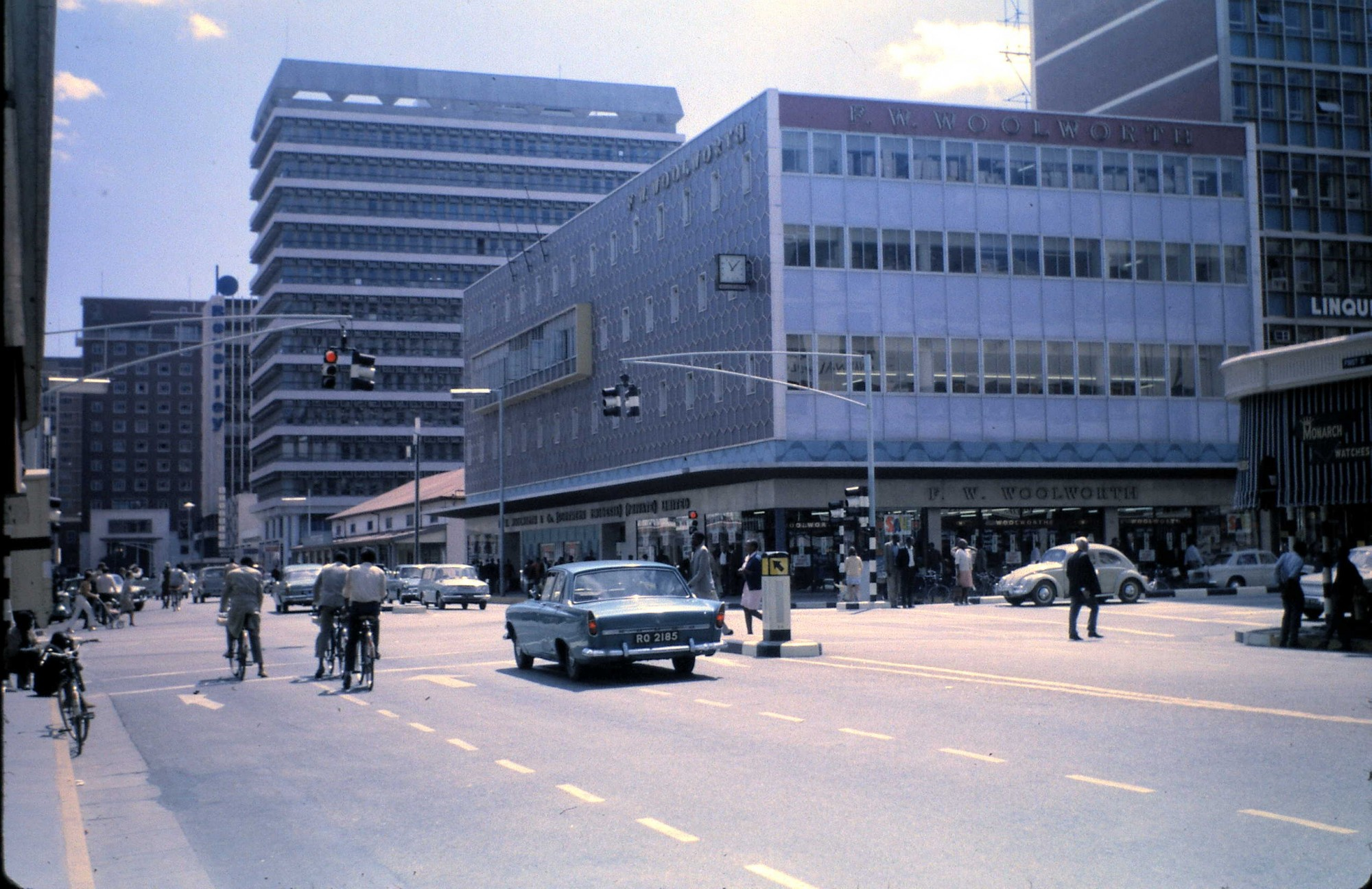 1970 Salisbury First Street Rhodesia