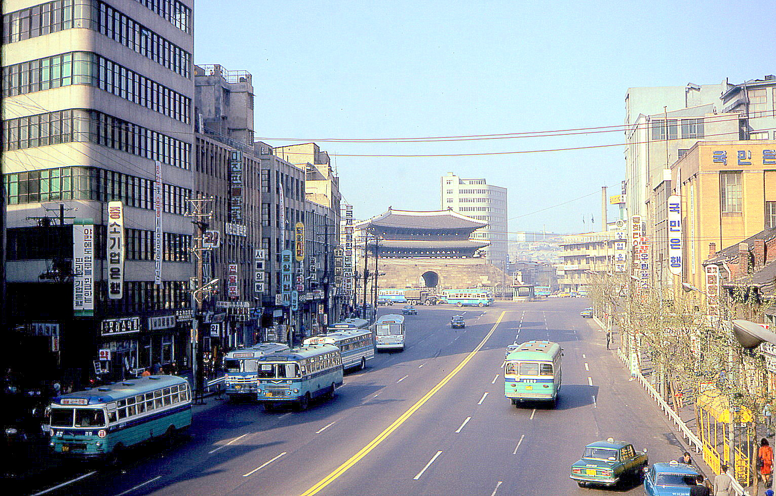 1970 Seoul Great South Gate