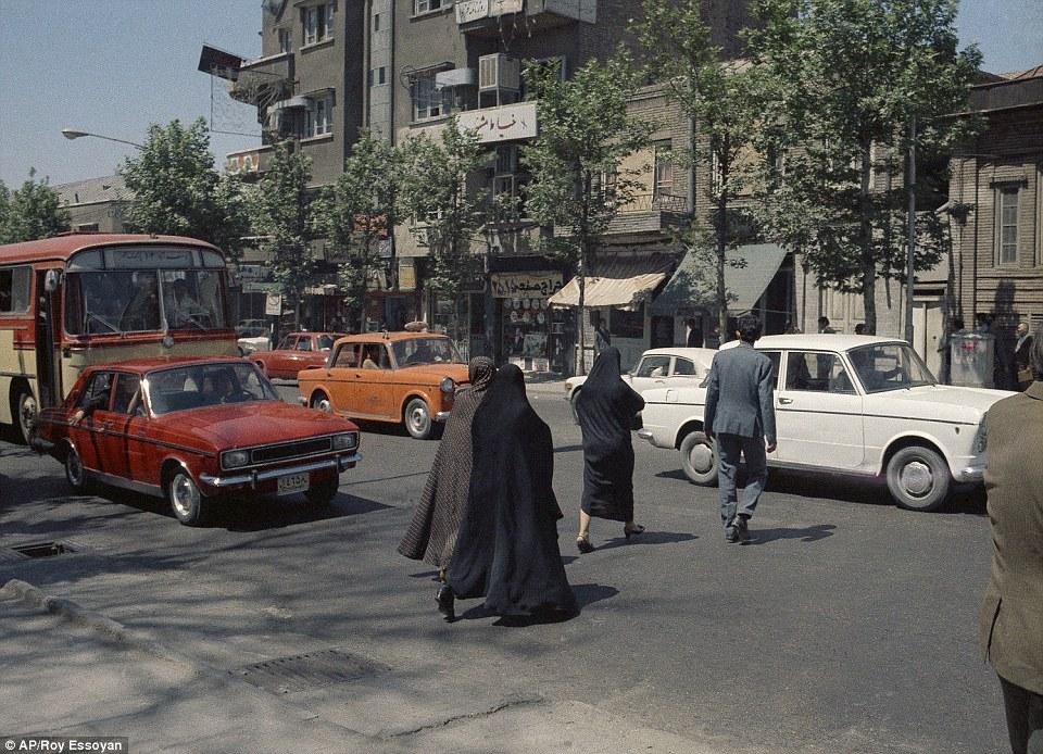 1970 Tehran traffic