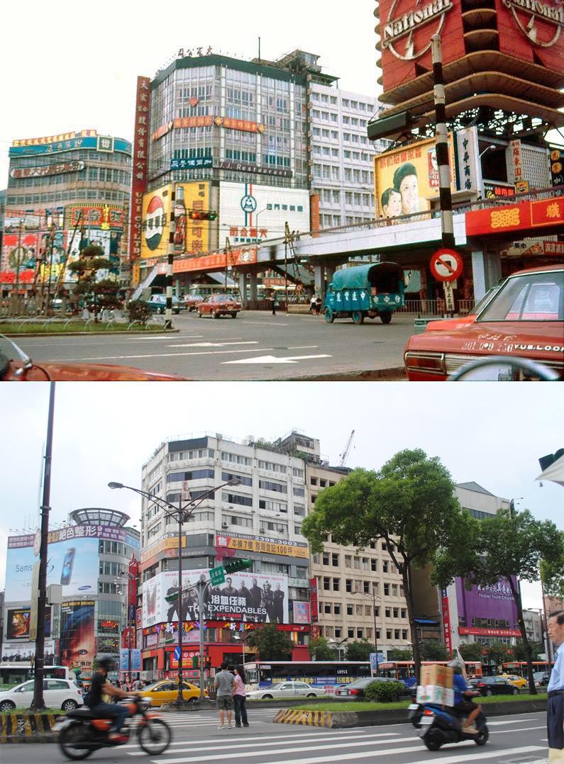 1970-2010 Taipei Ximen Circle