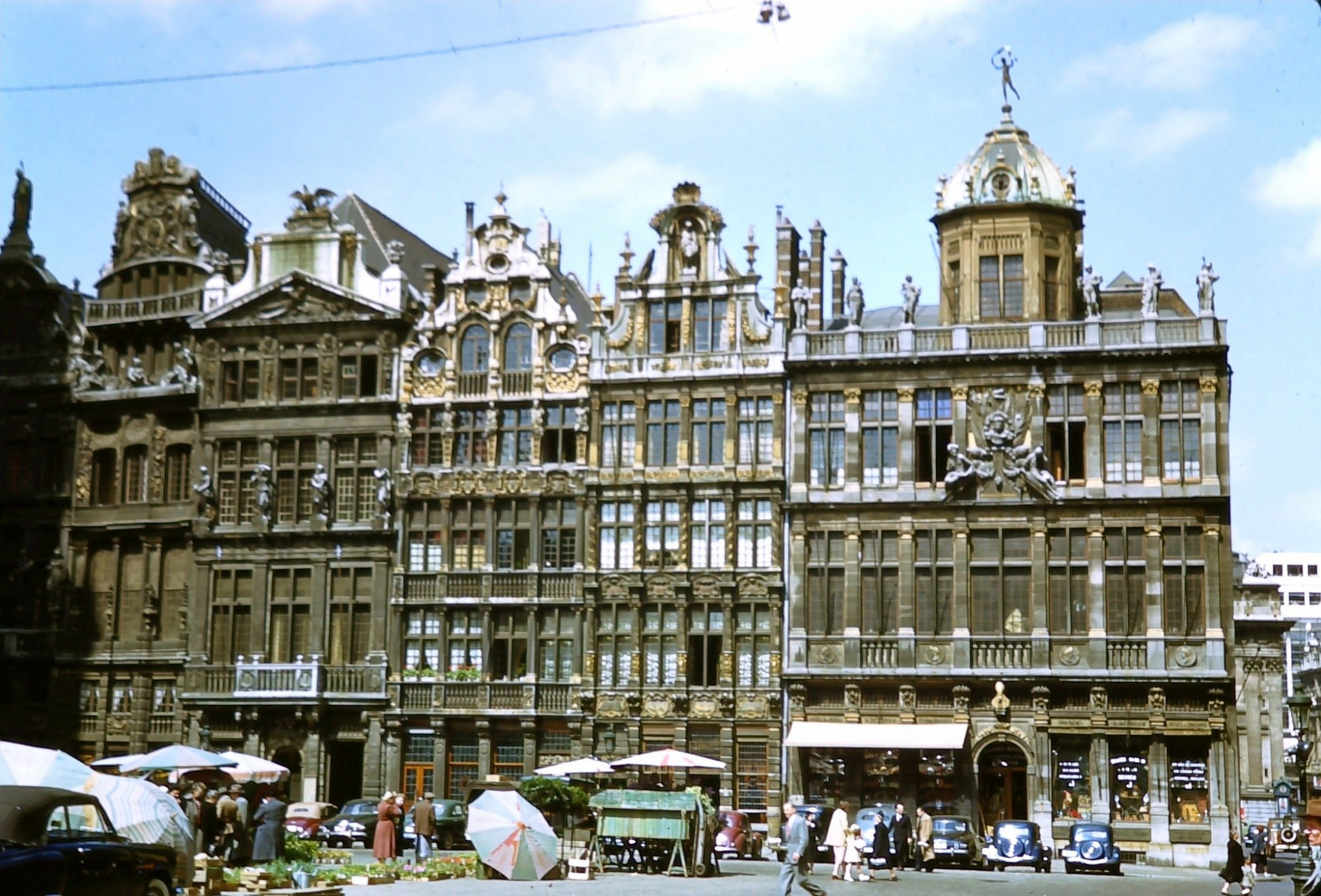 1950 Brussels Le Grand Place, May 17