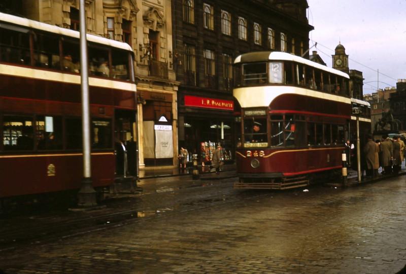 1950 Edinburgh Princes Street