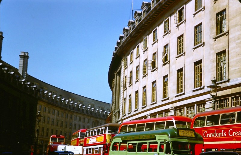 1950 London Regent Street off Piccadilly Circus, May 10, 1950