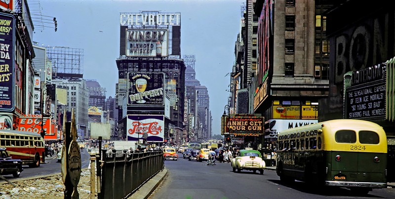 1950 NY Manhattan Times Square2