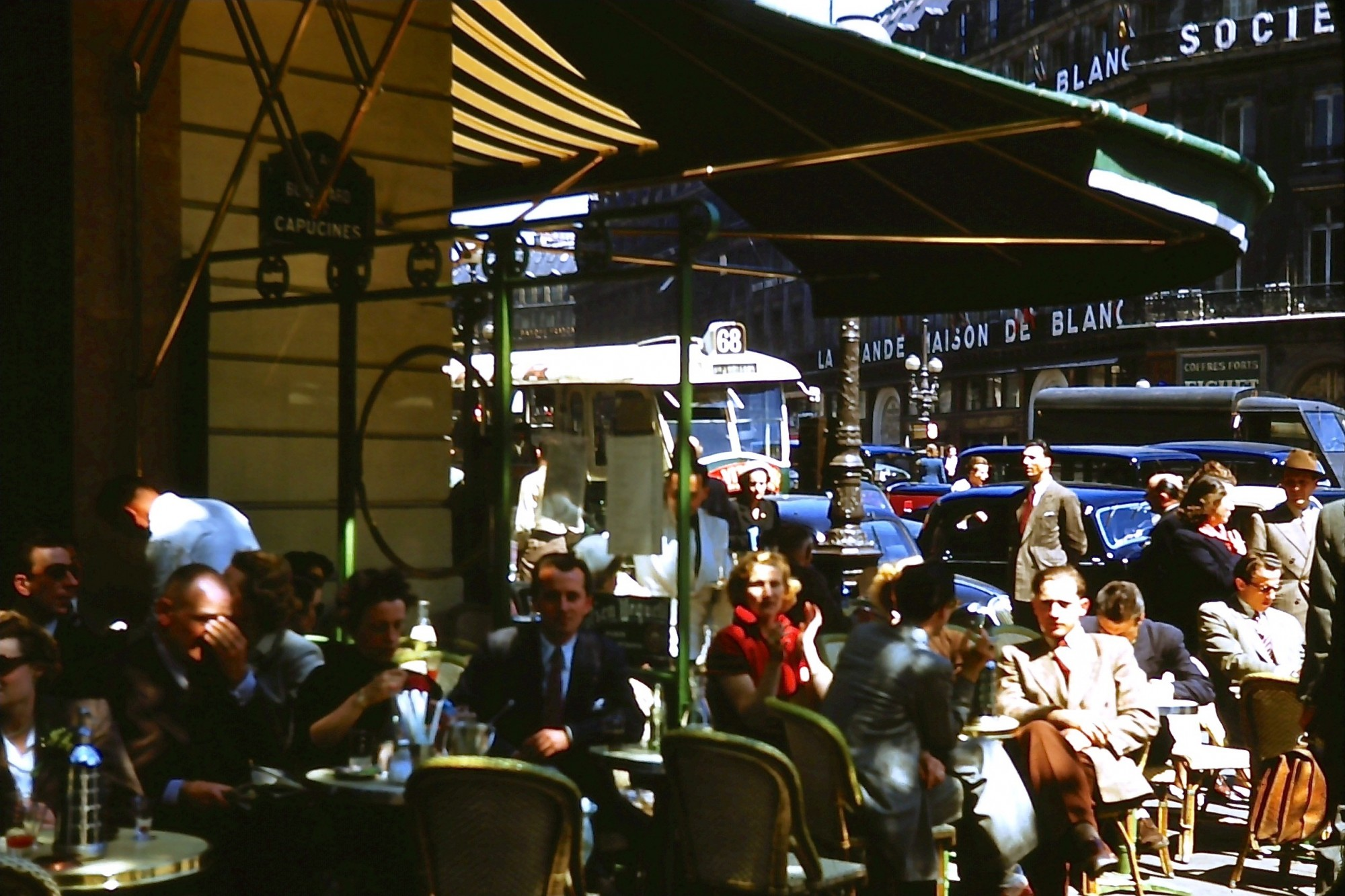 1950 Paris cafe