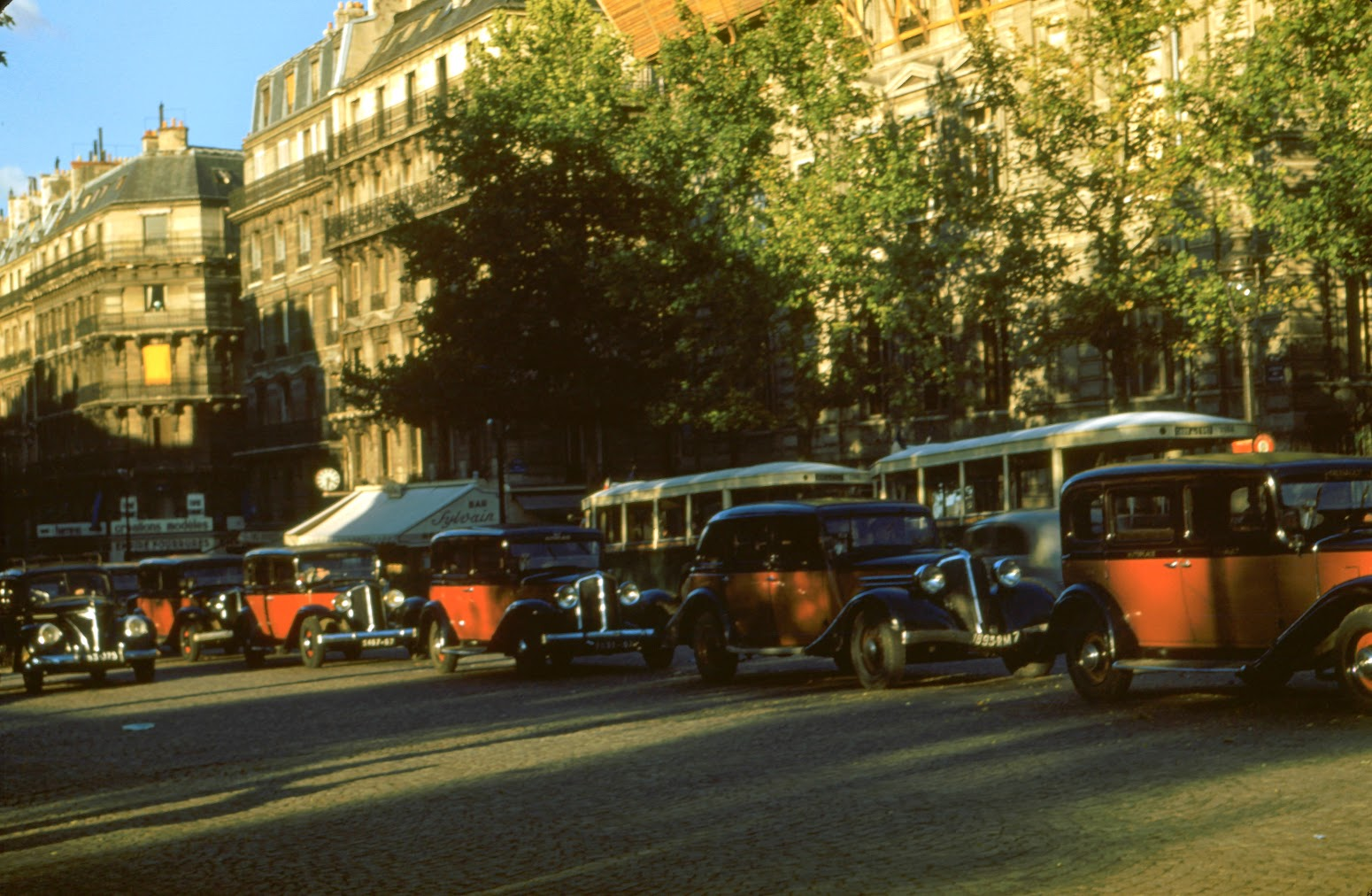 1950 Paris Taxis