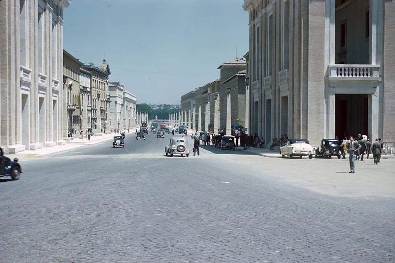1950 Rome Via della Conciliazione2