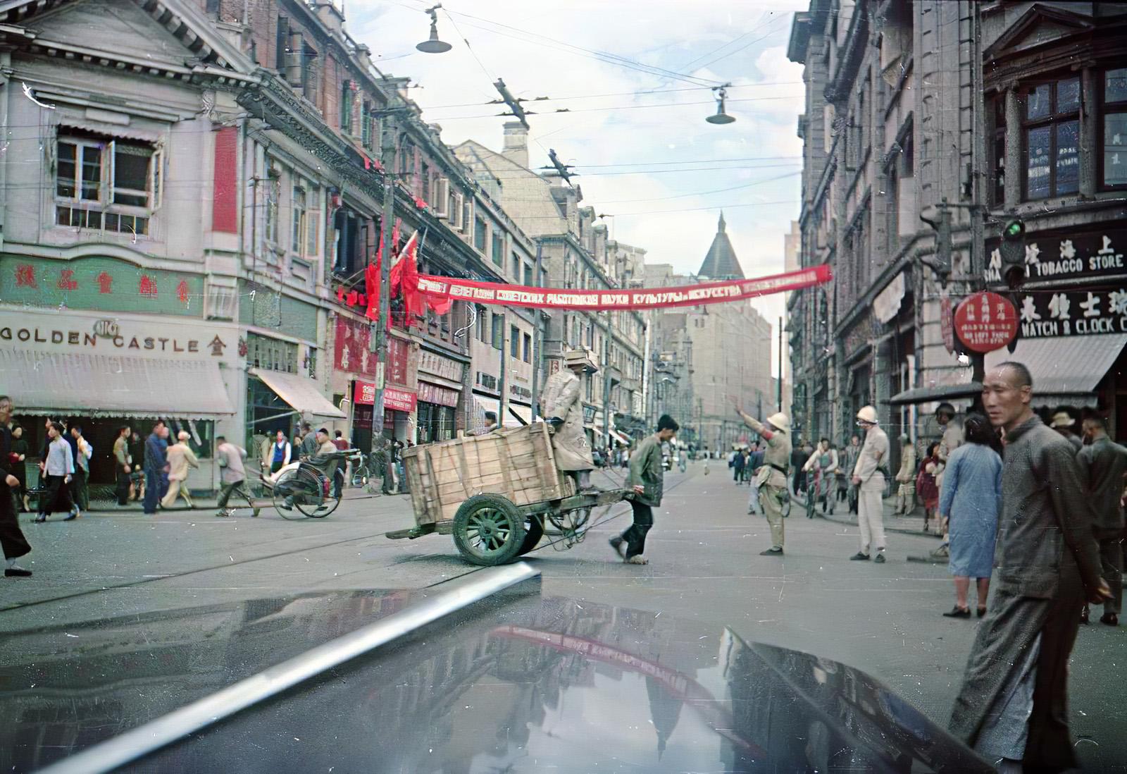 1950 Shanghai. В. Микоша